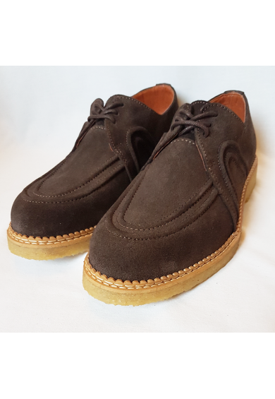 Wolf Brown Suede