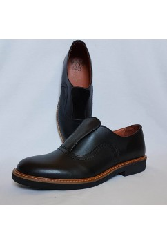 Shu-Lok Shoe Black Leather