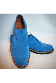 Shu-Lok Shoe Light Blue Suede