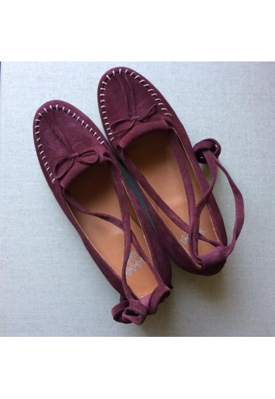 Grace Bordeaux Crepe Sole