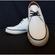 Dynamite White Leather