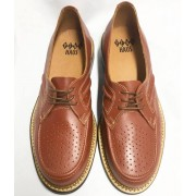 Satellite Brown Leather